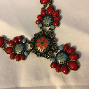 Jewelry - Necklace Multi Colored Turquoise